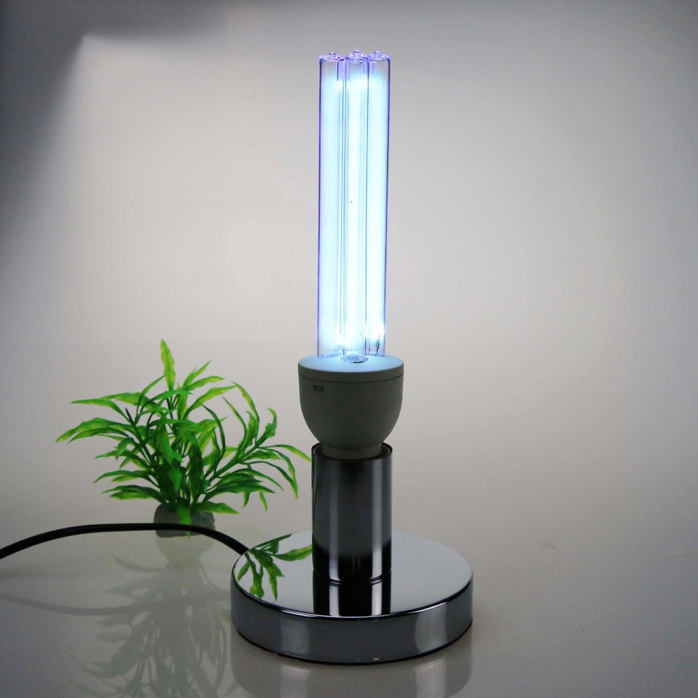 Image 4 - 석영 UVC 살균 살균 CFL 오존 램프 벌브 자외선 E27 박테리아 바이러스 진드기 소독 용베이스germicidal bulbuvc bulbuvc germicidal lamp -