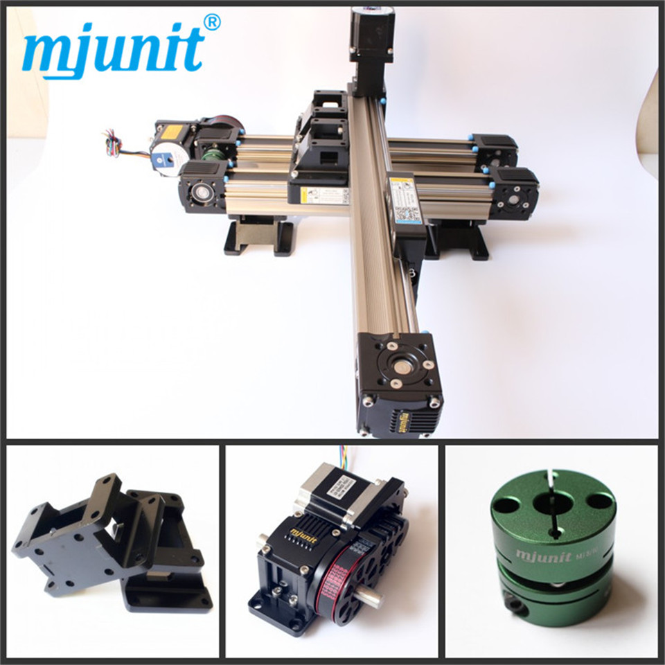 motor linear actuators high quality guideway toothed laser machine belt drive rail high speed bed electric dc unit slider linear axis with toothed belt drive belt drive linear rail reasonable price guideway 3d printer linear way