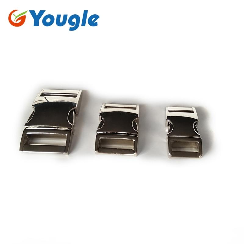 Yougle 5 Pcs Lot Metal Curved 52mm 40mm Wedding Slot Quick