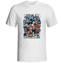 My Anime Heroes T-shirt Novelty Design Print T Shirt Fashion Skate Punk Women Men Top