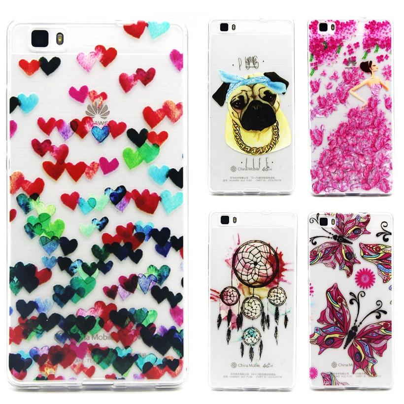 Чехол для телефона <font><b>Huawei</b></font> P8 Lite ALE L21 телефон Аксессуары P8 мини P8lite ALE-L21 ALE-L04 телефона Чехлы SCAK02