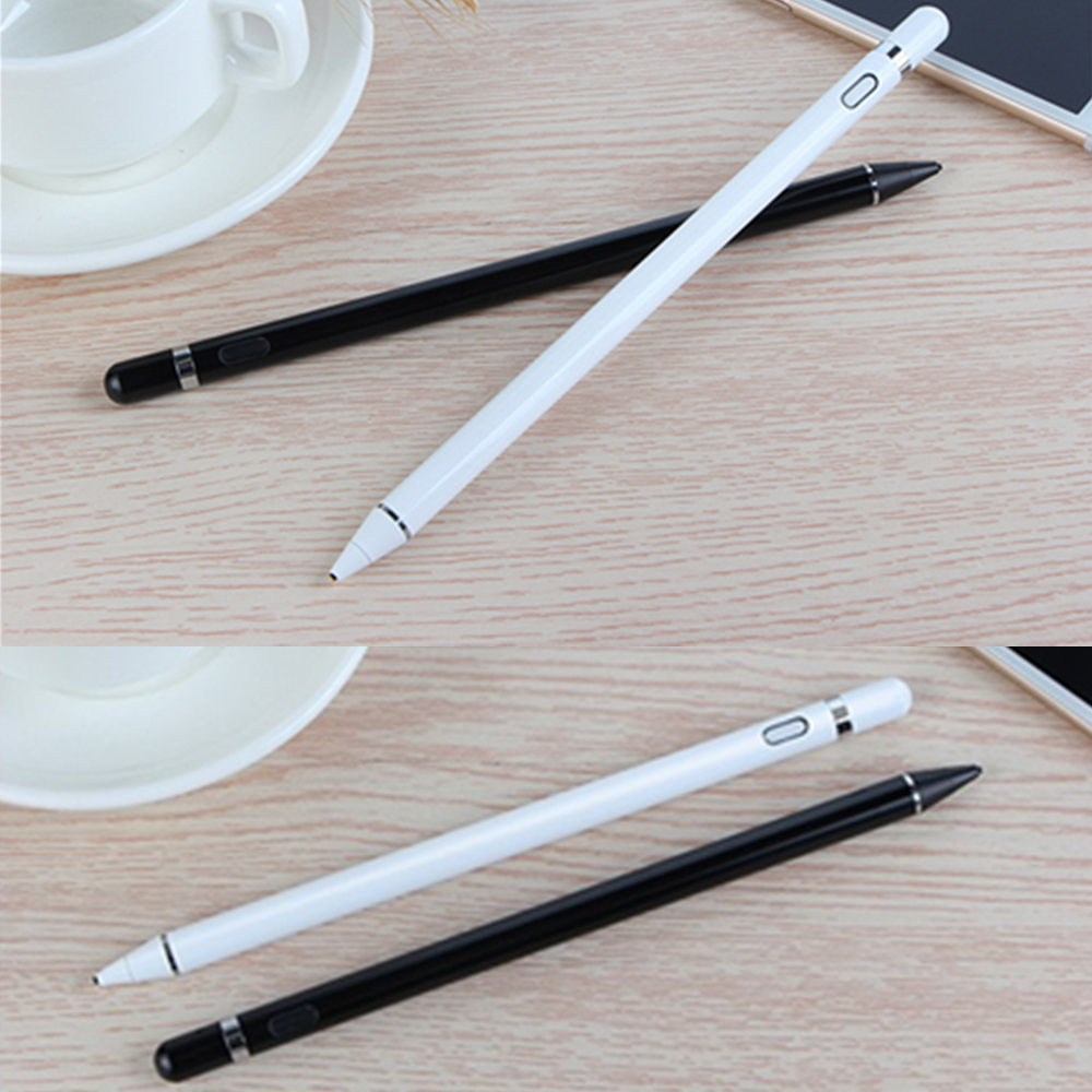 New Active Stylus Capacitive Touch Screen Pencil Drawing For Microsoft surface pro 1 2 3 4 5 go RT Book Laptop Tablet PC Pen capacitive pen touch screen drawing pen stylus with conductive touch sucker microfiber touch head for tablet pc smart phone