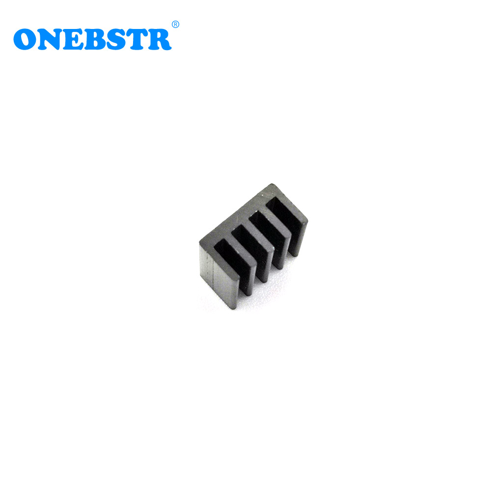 20Pcs/lot Aluminum Routing 8.8X8.8X5mm Heatsink Electronic Chip Cooling Radiator for A4988 Chip set Hot sale Free shipping 3