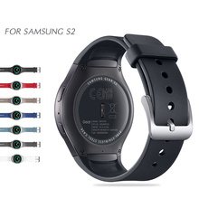 Sport Silicone Band For Smart Samsung Gear S2 Watch Band Stylish Silicone Replacement Strap SM R720