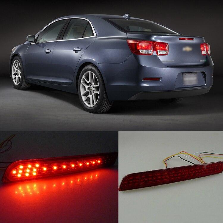 Ownsun превосходный светодиодный рефлектор задний фонарь бампер с singnal поворота для Шевроле Малибу