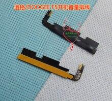 Nueva DOOGEE F5 volumen arriba/abajo + encendido/de botón flex cable FPC para DOOGEE F5 inteligente teléfono celular
