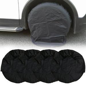 Image 1 - 4 шт. 32 дюймов колеса шины чехлы чехол автомобильных шин сумка для хранения колеса автомобиля для RV для грузовых автомобилей, кемпер, прицеп Тюнинг автомобилей