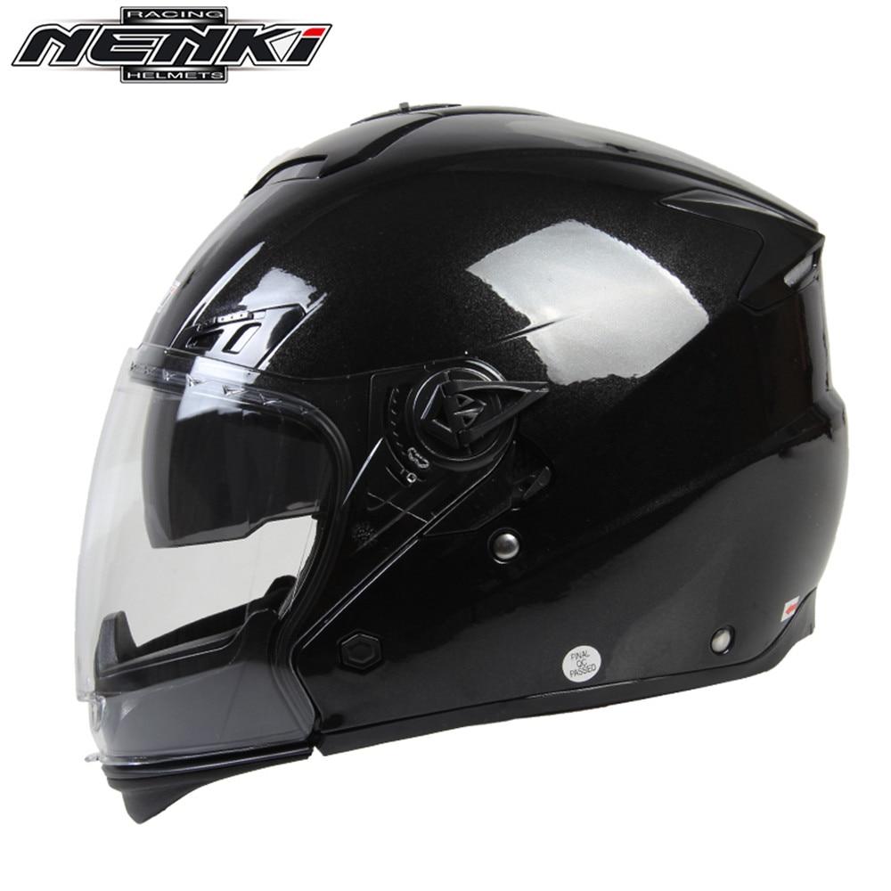 NENKI Modular Open Full Face Motorcycle Helme Capacete da Motocicleta Cascos Moto Casque Kask Helm FF850 Double Lens Helmets