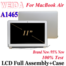 WEIDA 95% New LCD 11.6″ For MacBook Air A1465 Display Touch Screen Full Complete Assembly Replacement A1465+AB Case