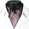 2017 Novo Inverno Chegada 100% Dupla-face Impressa Paisley Gravata dos homens De Seda De Luxo Cachecol Longo com Giftbox