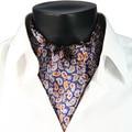 2017 de Invierno Nueva Llegada 100% de Lujo de Doble cara de Seda de Paisley Impreso Bufanda Larga de Los Hombres de Corbata con Caja de Regalo