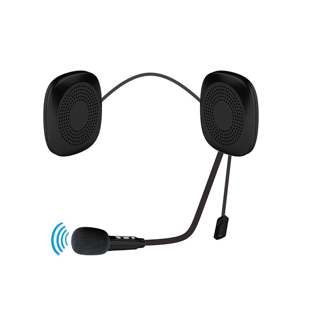 Wireless Motorcycle Helmet Headset Hands Free Talking Universal Helmet Bluetooth Headset Automatic Answering Phone Auto 2019 New