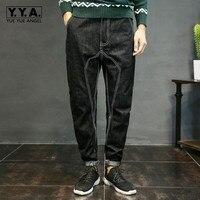 Yueyuw Mens Jeans Plus Size XS 4xl Stretch Denim Black Men S Pencil Pants Jean Casual