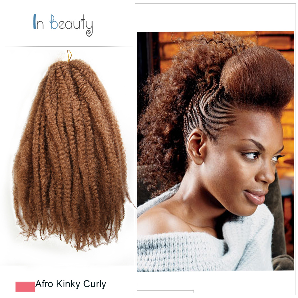 Curly Weave Synthetic Hair Xpression Braids Crochet Hair Extensions