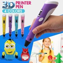 Bianyo Amélioré Version1.75mm ABS/PLA 3D Impression Stylo Avec Livraison Filament 3D Adaptateur Stylo Cadeau Créatif pour Enfants Imprimante stylos