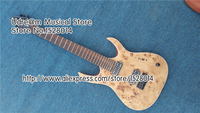 Custom Shop Nature Wood Mayones duvell 7 String Suneye Electric Guitar Solid Mahogany Guitar Body For Sale