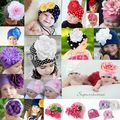 Tou Baby girl's Flower Hats Baby Hats Christmas hat girl's spring winter autumn Cap 100% cotton free shipping 1pc/lot