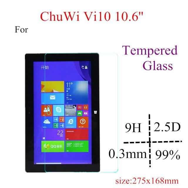 Высокое Качество Vi10 Vi10 Стекла Предохранитель Экрана Для Chuwi 10.6 дюймов Закаленное Стекло-Экран Протектор