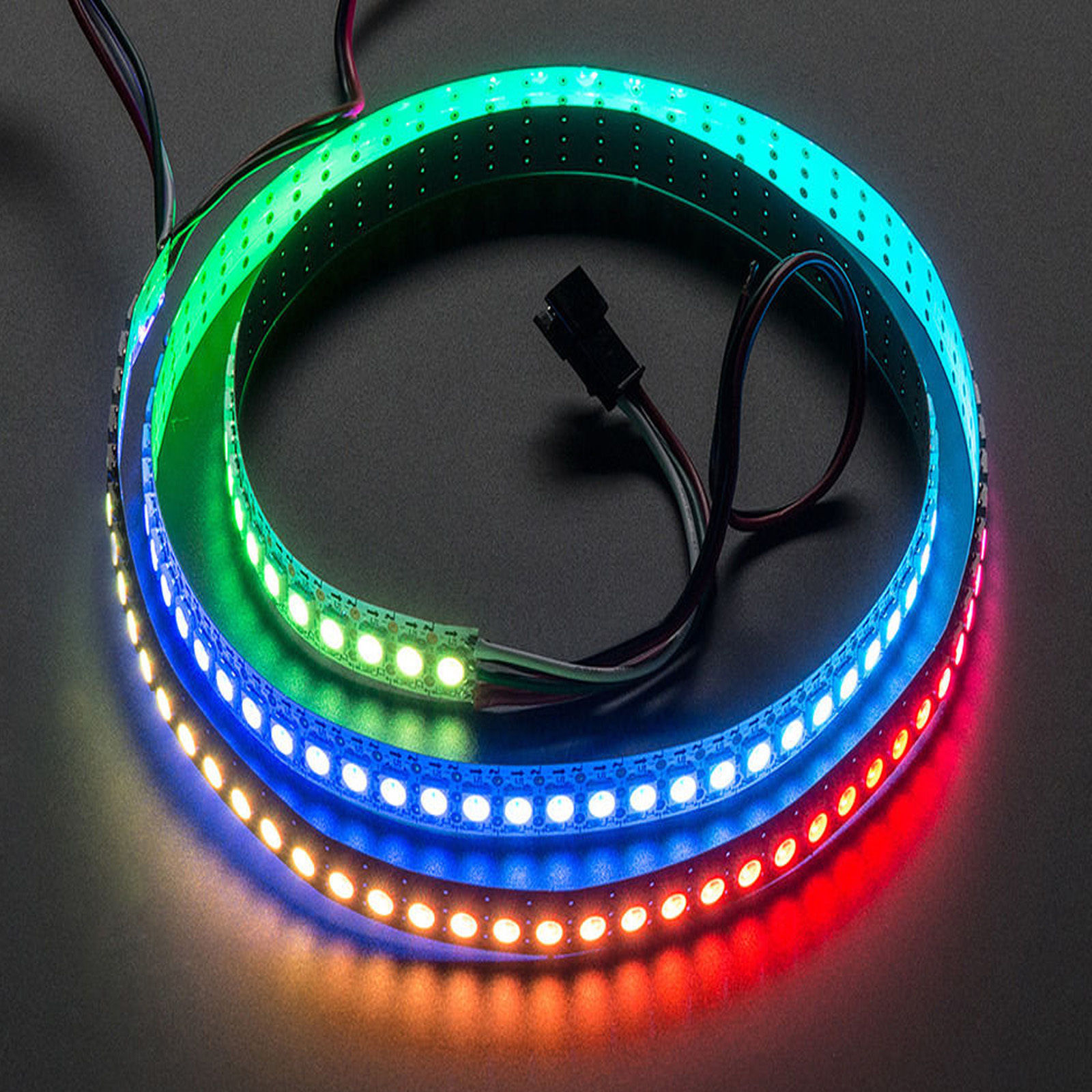 WS2812B-5050-RGB-LED-Strip-5M-150-300-Leds-144-60LED-M-Individual-Addressable-5V Fabelhafte Led Band 5m Farbwechsel Dekorationen