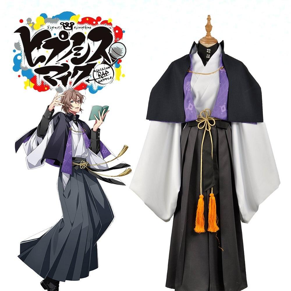 Division Rap Battle Costume Yumeno Gentaro Cosplay Costume Hypnosis Mic Fling Posse Phantom Halloween Cosplay Suit