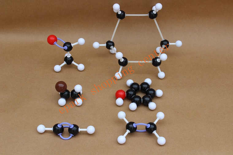 1 SET structure model of Molecular Chemistry Organic molecules Structure Model Chemistry Teaching ZX-1001 free shipping xhjy xmm 006 chemistry organic molecule model for teaching multicolored