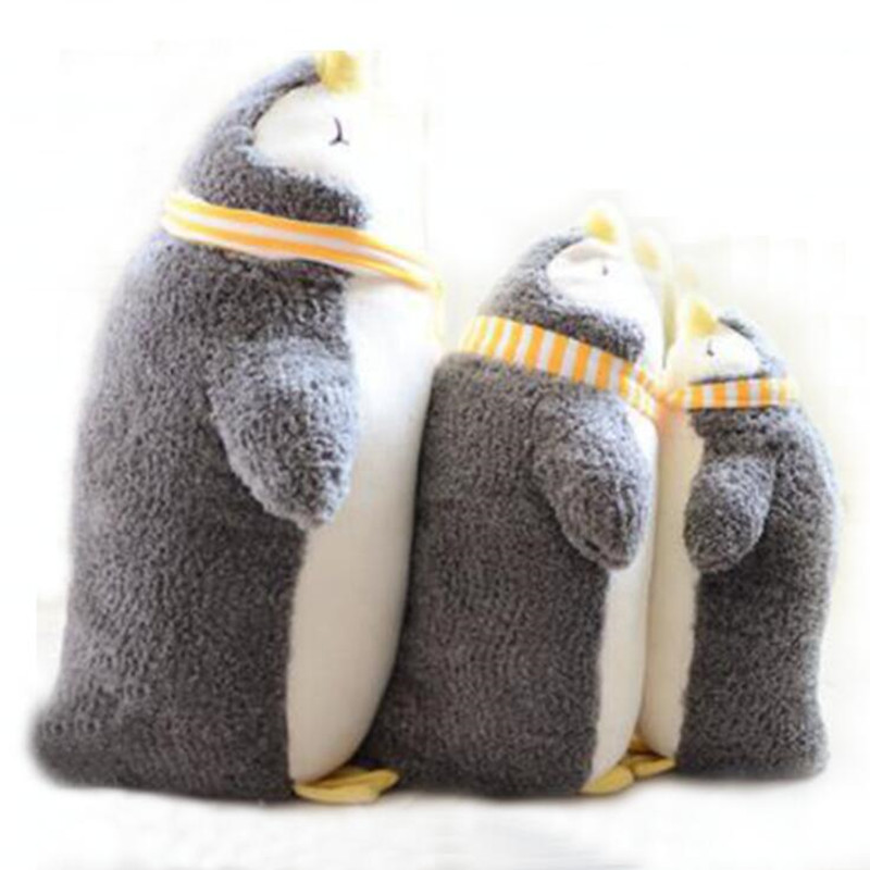 CXZYKING 53cm Plush Toy Stuffed Doll Penguin Doll Sea Turtle Cute Animal Pillow Cushion Cartoon Model Birthday Gift 1PCS hot sale cute dolls 60cm oblong animals pillow panda stuffed nanoparticle elephant plush toys rabbit cushion birthday gift