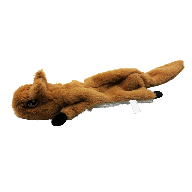 Cute Plush Toys Squeak For Dogs Chew Squeaker Pet Squeaky Animal Shaped Toy Squirrel  Dog Cat Toy Pet Supplies 9