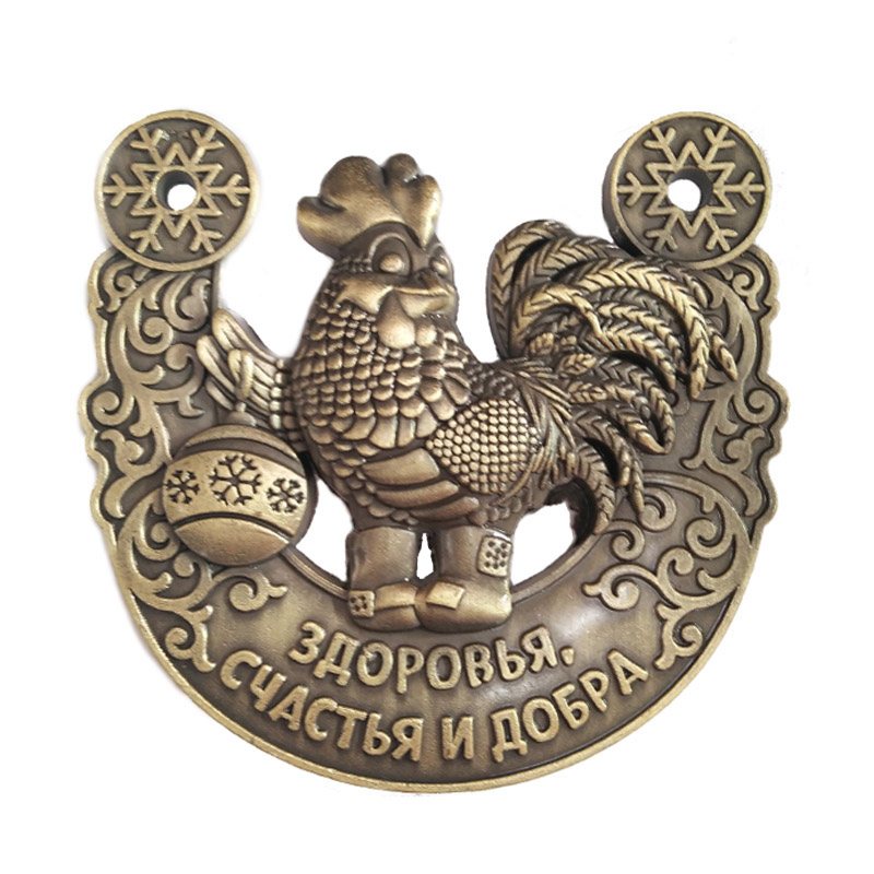 popular metal rooster decor-buy cheap metal rooster decor lots