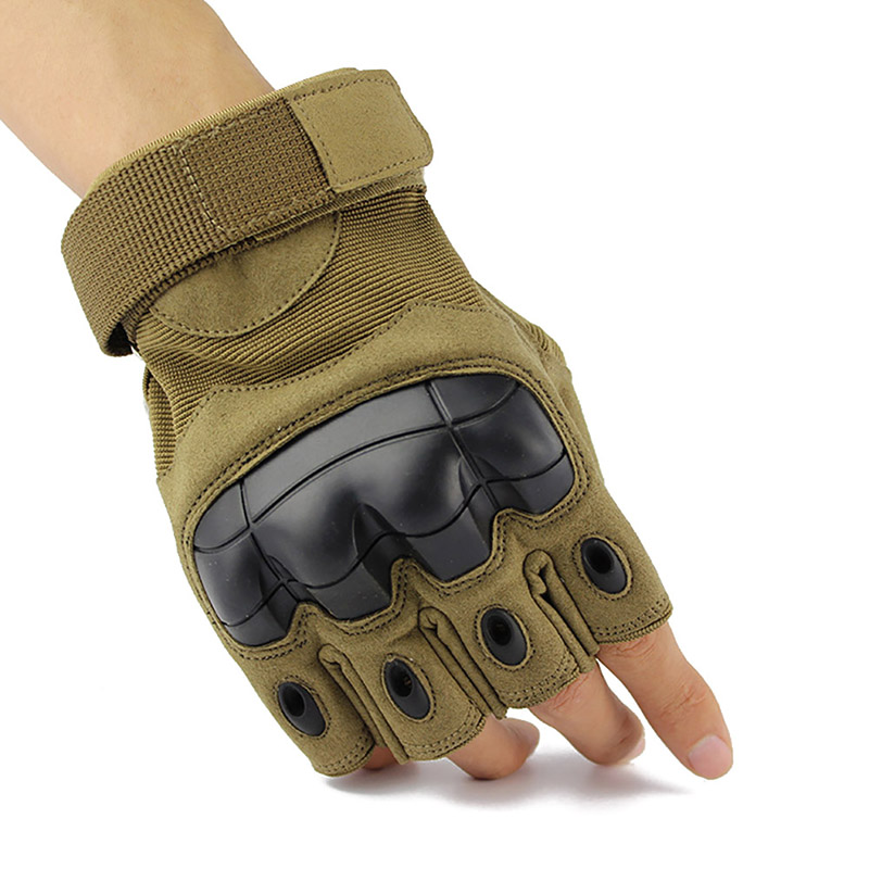 Half Finger Tactical Gloves Military Armed Army Shooting Airsoft Combat Anti-Skid Rubber Knuckle New цена 2017