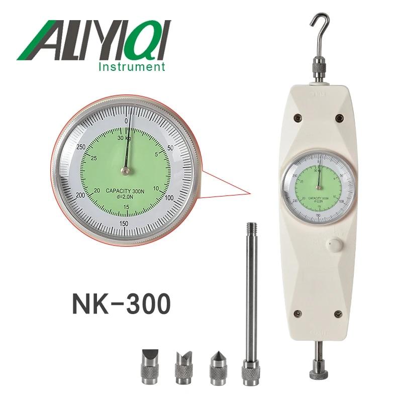 5KG Spring Tension Gauge BAOSHISHAN NK-100N Push Pull Gauge Bundle