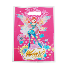 40pcs/lot Winx Fairy Elf Gift Gag For Shower Party Supplies Kids Happy Birthday Candy Bags Loot Bag Decoration
