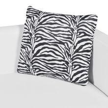 vidaXL Artificial Leather 3-Seater Sofa White