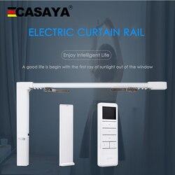 Dooya silent motorized curtain track DT82/KT82TN/KT82LE motor set Electric Curtain Track for smart home completely Set