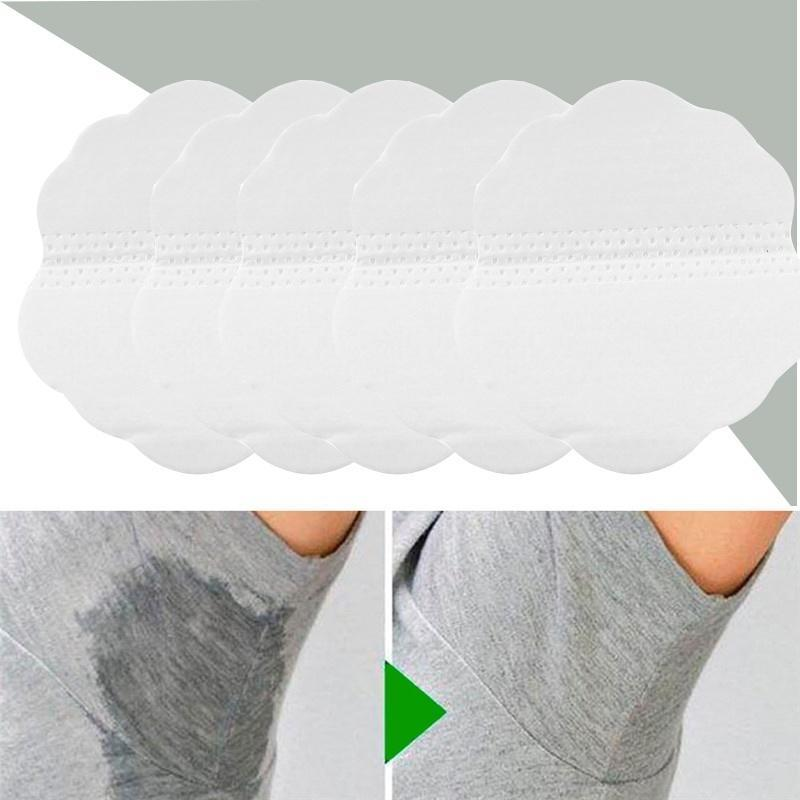 Hot! 6/10/30/50pcs Underarm Dress Clothing Armpit Care Sweat Scent Perspiration Pad Shield Absorbing Deodorant Antiperspirant