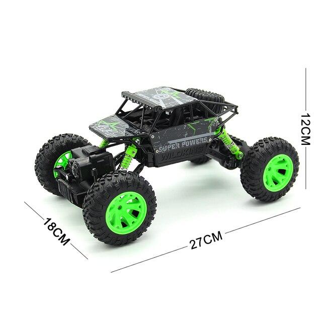1:18 2.4G 4WD Rock Crawler 4CH RC Car