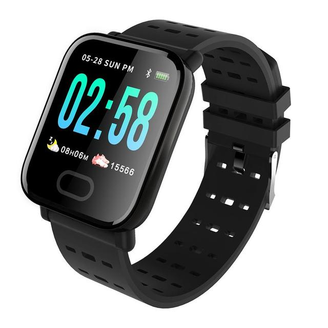 Smart Watch Heart Rate Monitor Sport Fitness Tracker Sleep Monitor Waterproof Sport Watch Band for IOS Android Gifts
