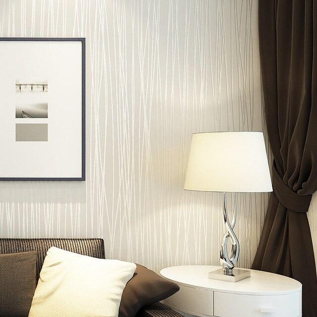 non tiss mode pais flocage rayures verticales papier peint pour salon canap fond murs maison - Photo De Papier Peint Pour Salon