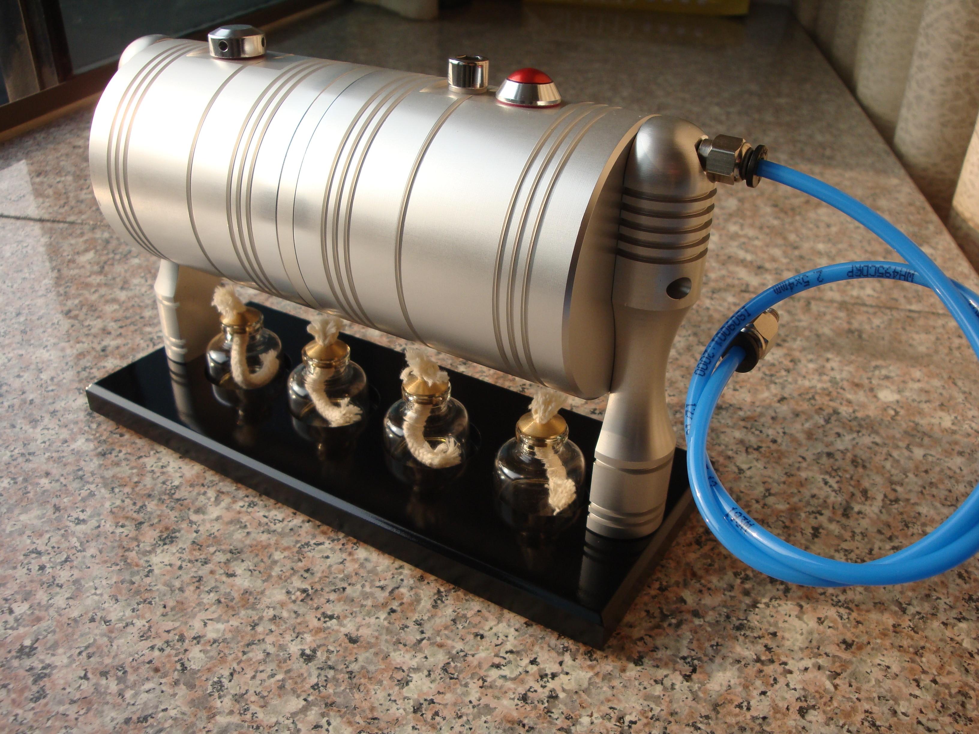 GL002 500ml Engine Model Steam Boiler