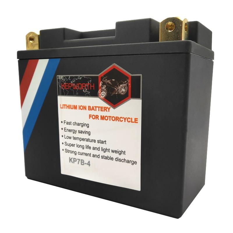 12V 7Ah 9Ah 12Ah 14Ah CCA 260A 350A 450A moto LiFePO4 batterie moto LFP avec Protection de tension BMS