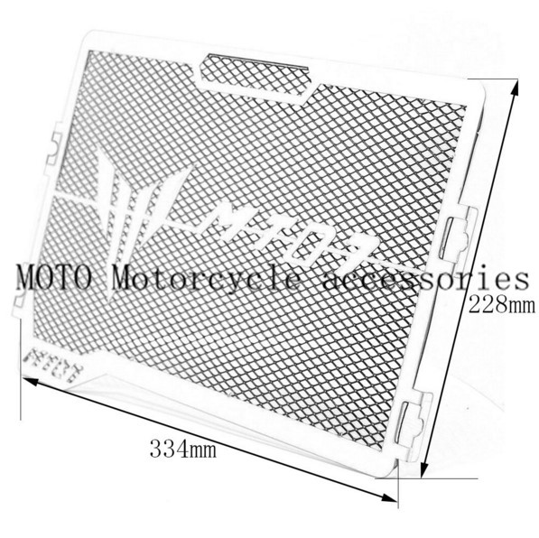 Motorbike Grille Guard Cover For Yamaha MT 07 MT-07 Motorcycle Engine Radiator Bezel Grille Protector Grille Guard Cover New цена 2016