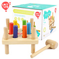 Lucy y Leo de Alta Calidad para Niños De Madera juguetes Educativos Martillo y Clavijas golpean mesas y Juguetes de Aprendizaje Kids Regalos