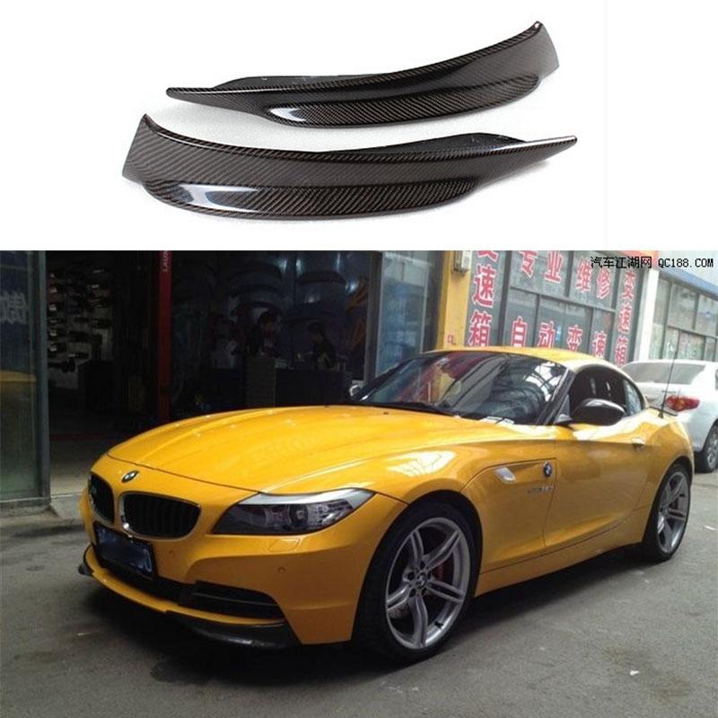 2016 Bmw Z4: Carbon Fiber Front Bumper Splitter Apron Flap For BMW Z4