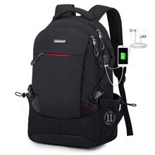 Backpack Men Simple College Student Mens Fashion Trend Large Capacity Business Travel Bag Computer Leisure Backpac