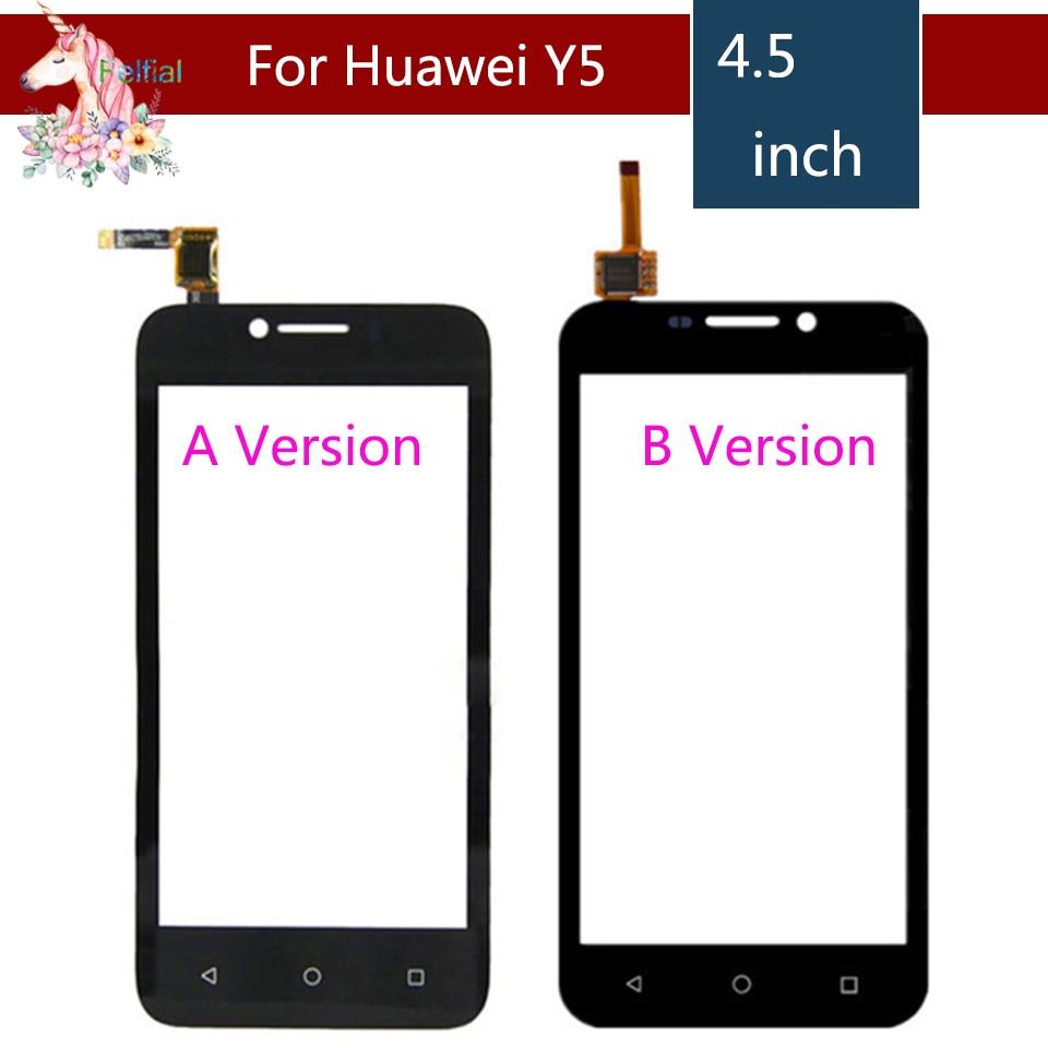 У5 сенсорный экран для Huawei Y540 У5 y560 портативный Y541 Y541-U02 y560 портативный-l01 от сенсорный ЖК-экран дигитайзер панели датчик стекло замена