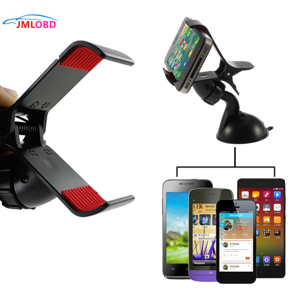 1pc Windshield 360 Degree Rotating Car Sucker Mount Bracket Holder Stand Universal for Pho