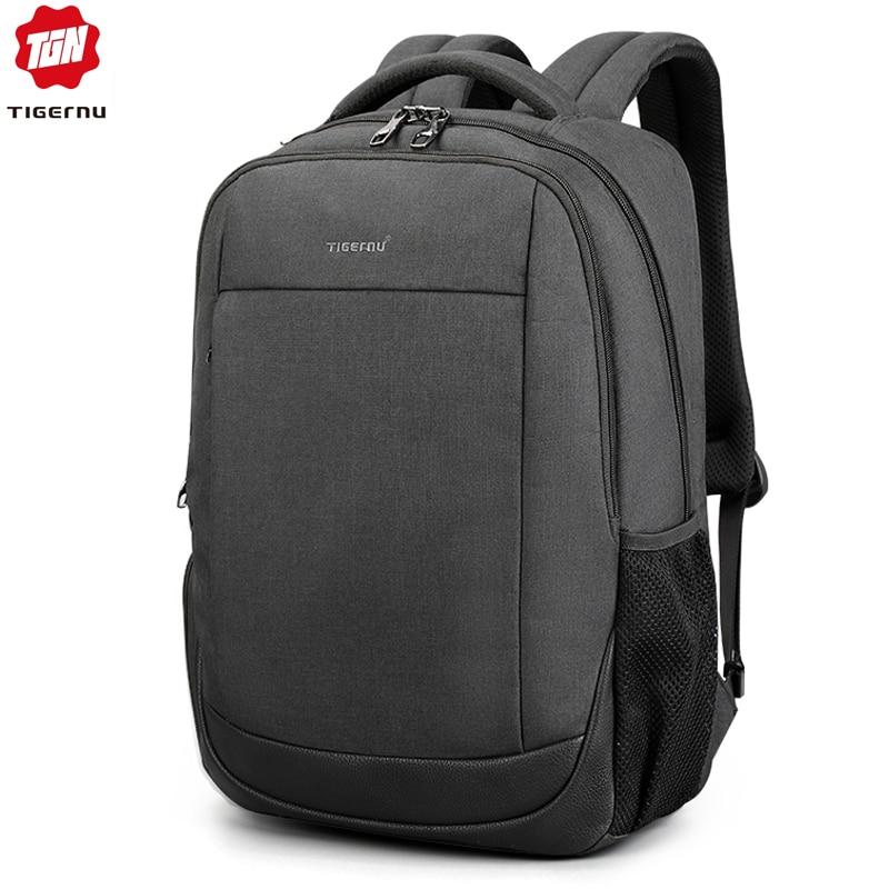 "New Arrival Male Mochilas 15.6"" Laptop Backpacks For Men Anti Theft School Bagpack Women Solid Rucksack"