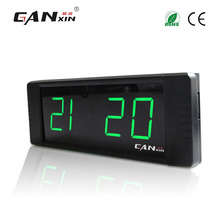 [Ganxin]1″ remote control Led Digital Clock Multifunctional electronic desktop clock home decor alarm clock usb