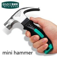 Mini Przenośny Mini Claw Hammer Hammer Samochodów Szkło Bezpieczne Młotek gumowy uchwyt monter narzędzia ręczne