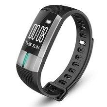Smart Band Беспроводные устройства трекер Фитнес трекер ЭКГ Heart Rate Мониторы Часы Приборы для измерения артериального давления шагомер AU22a