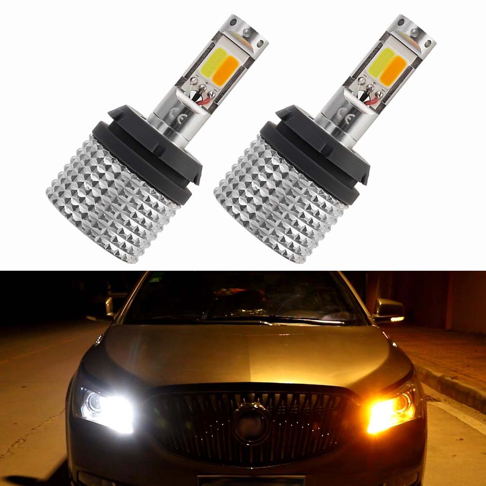 2PCS Ba15s BAU15S 1156 P21w W21W WY21W 7440 Daytime Running Light Turn Signal Lights Dual Mode Stop Signal DRL LED Bulbs For Car 2pcs 12 24v t20 7440 2835 42 smd 1000lm 20w car led drl daytime running light dual color switchback turn signal lamp bulb